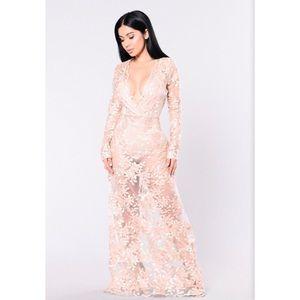 """""""Flower Goddess Dress"""" Fashion Nova Maxi"""